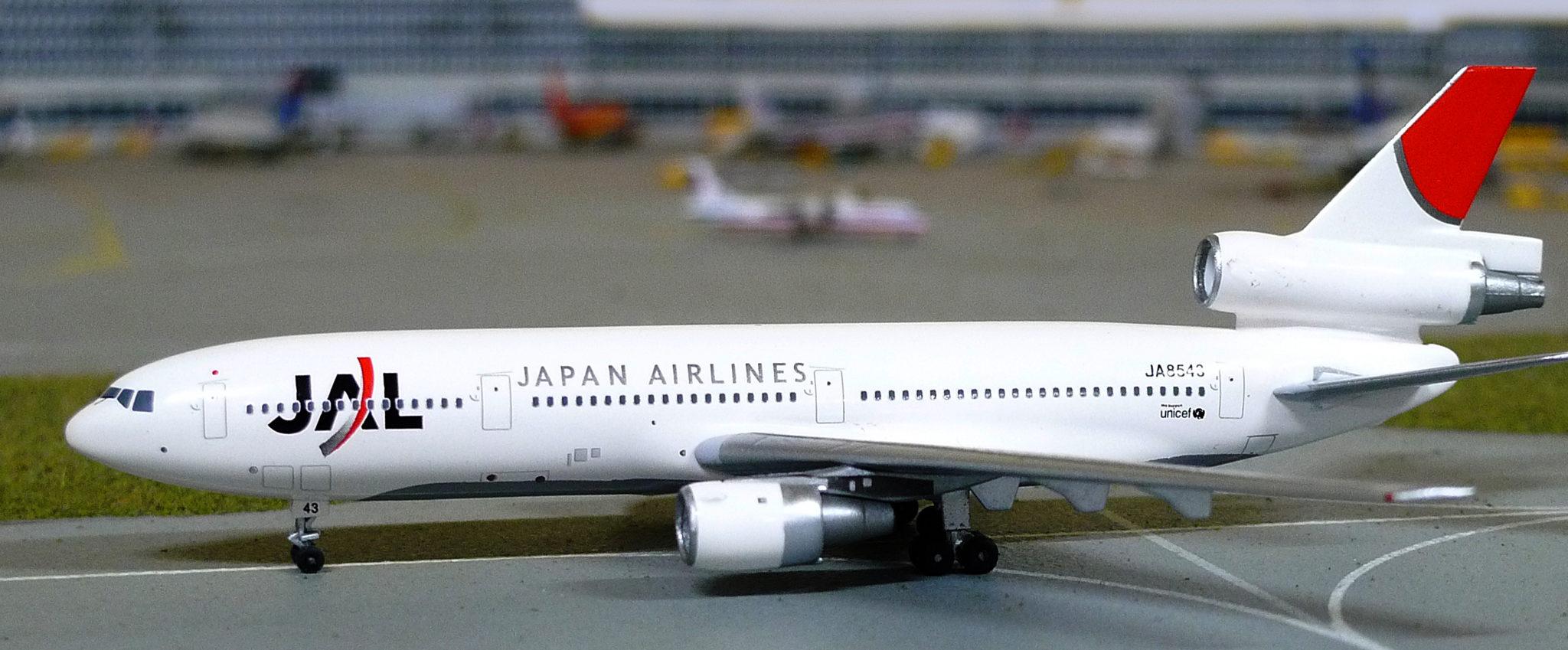 AEROCLASSICS ACJA8540 JAL DC-10-40 JA8540