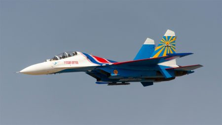 Russian Knights Su-27UB