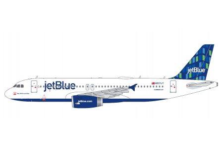 gjjbu1657_jetblue_hi-rise_livery_airbus_a320-200_registration_n537jt_die_cast_1-400_scale_model