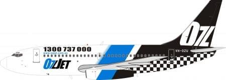 737-200澳捷航空 VH-OZU