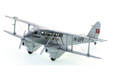Oxford-Diecast-72DR013-diecast-model-DH.89-Dragon-Rapide-ANA-Front-port-view